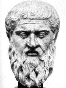 bust of Plato